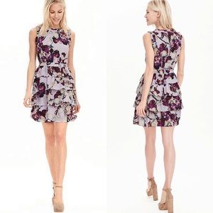 BANANA REPUBLIC Andre Ruffle Dress